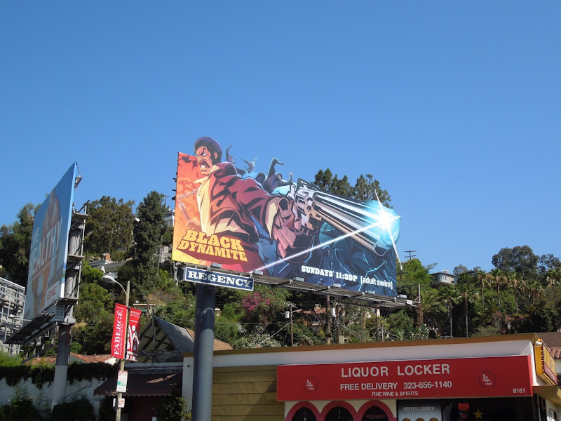 Black Dynamite TV billboard