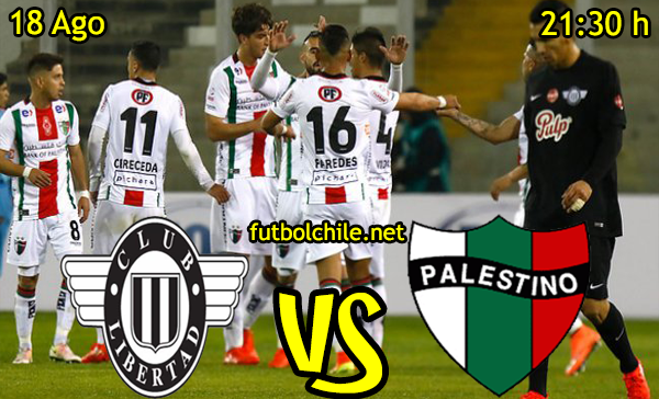 Ver stream hd youtube facebook movil android ios iphone table ipad windows mac linux resultado en vivo, online: Libertad vs Palestino
