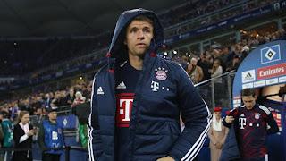 Thomas Muller absen selama tiga Minggu karena Cedera otot - Informasi Online Casino