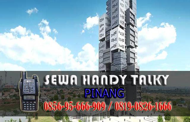 Pusat Sewa HT Pinang  Pusat Rental Handy Talky Area Pinang