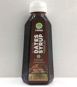 Manfaat sari buah kurma dates syrup hpai premium asli original HNI