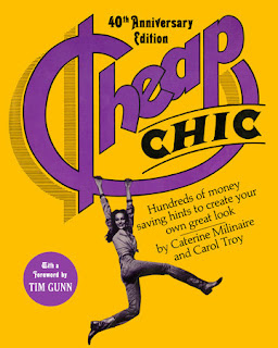 The Artist Librarian reviews the 40th Anniversary Edition of Cheap Chic: a mixture of both relevant advice and tips along with a fascinating (dare I say historical?) look into some of the fashion ideals of the 1970s.