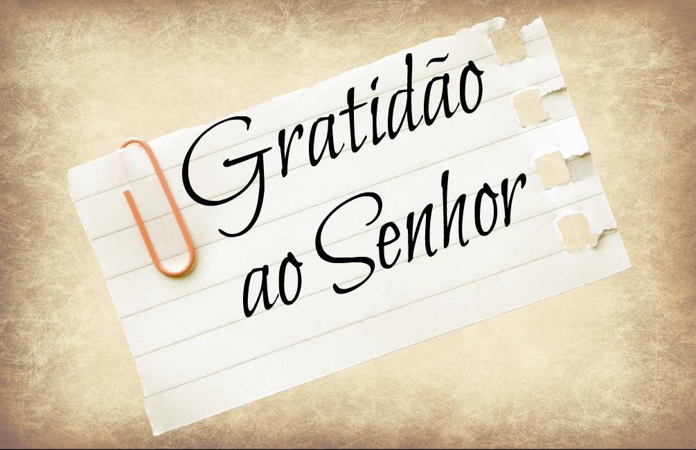 Blog CVX Amar E Servir: GRATIDÃO: O Agradecimento é A