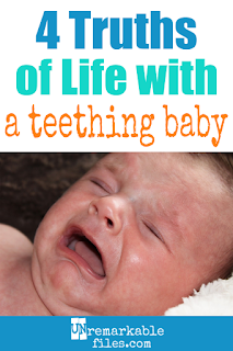 Life with a teething baby is no joke. While you may not be able to give your teething toddler or baby relief, maybe you can lighten up the situation with some parenting humor. This hilarious article sure had me laughing! #teething #baby #toddler #parentinghumor