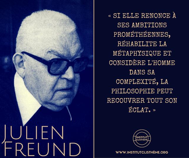 La philosophie, Julien Freund