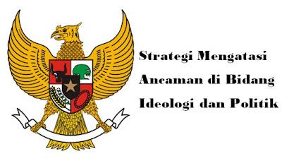 Strategi Mengatasi Ancaman di Bidang Ideologi dan Politik (Integrasi Nasional)
