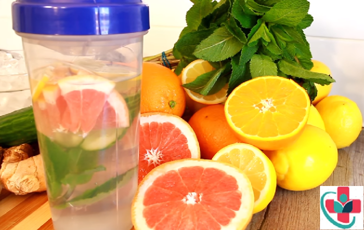 INFUSED DETOX WATER DRINKS FOR WEIGHT LOSS