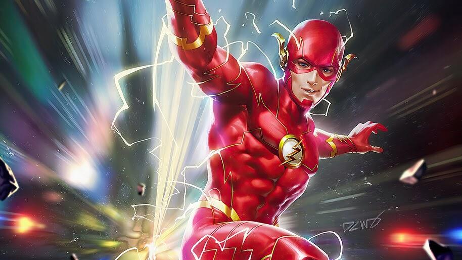 Flash, DC, Superhero, 4K, #6.2393