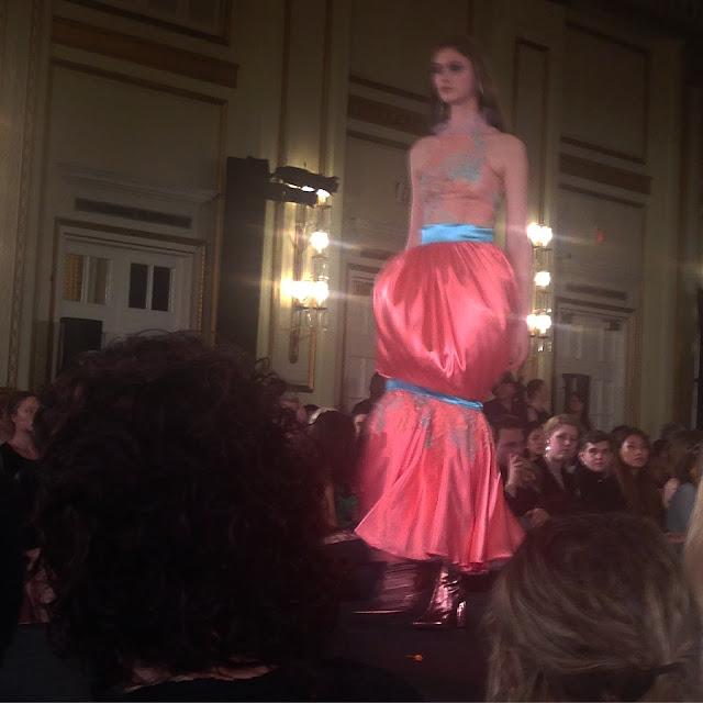 Blanche Macdonald Centre Nocturnes annual design graduate runway fashion show 2017