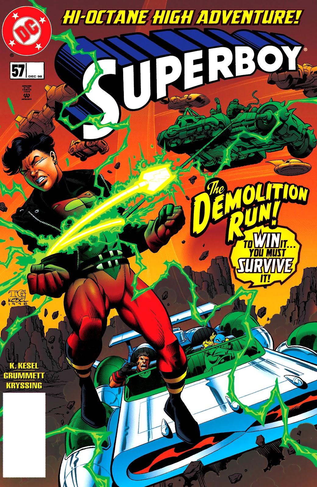 Superboy (1994) 57 Page 1