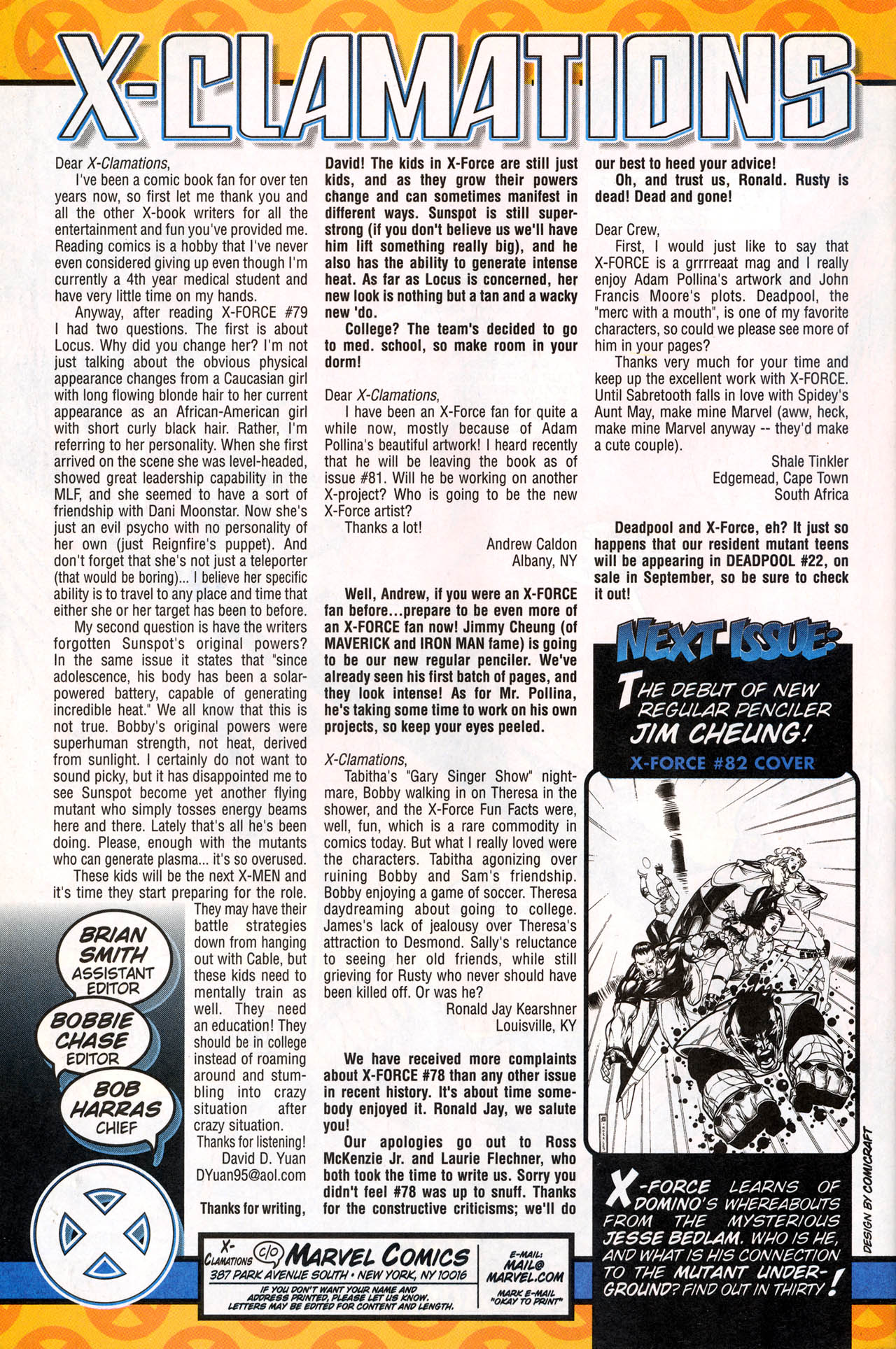 Read online X-Force (1991) comic -  Issue #81 - 36
