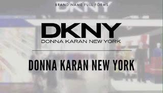 Logo DKNY Donna Karan New York