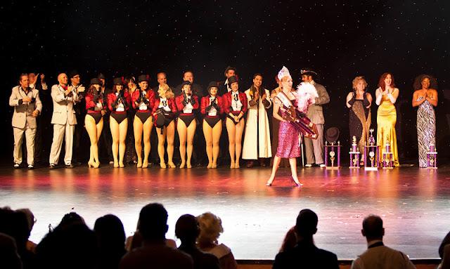 Estrutura do Burlesque Hall of Fame em Las Vegas