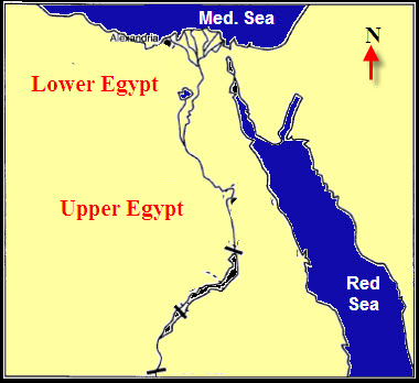 Famous Pharaohs Lower Egypt