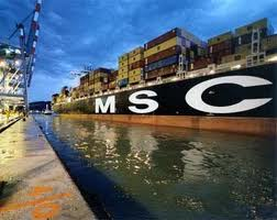 Container Tracking: MSC Container Tracking