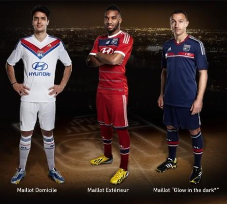 Brasil Lyonnais  Conheça os uniformes que o Lyon usará na temporada ... a9e21a13c6a38