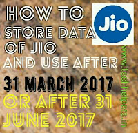 use free internet of reliance jio after 31 june 2017
