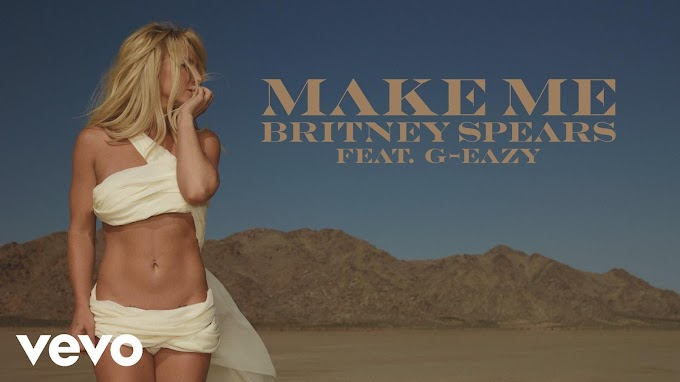 """Britney Spears' """"Make Me"""" Gets An """"Electro-tinged"""" Makeover By HalfStyle"""