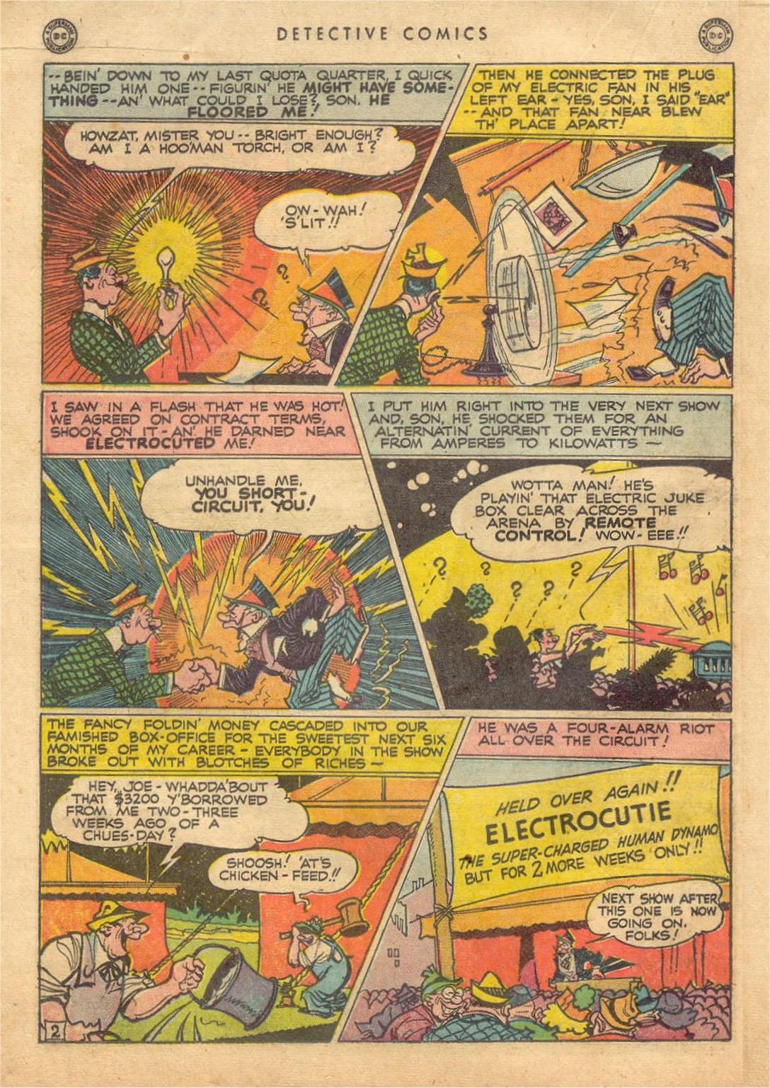 Read online Detective Comics (1937) comic -  Issue #132 - 32
