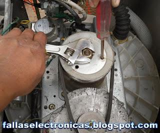 despiece de transmision lavadora lg