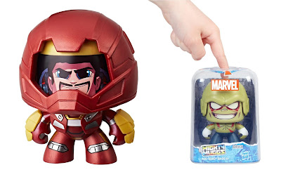 Marvel Mighty Muggs Mini Figure Series 5 by Hasbro – Hulkbuster Iron Man & Drax