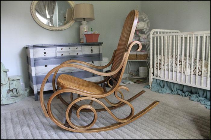 Fabulous Sawdust Designs Bentwood Rocker Comes Back To Life Machost Co Dining Chair Design Ideas Machostcouk