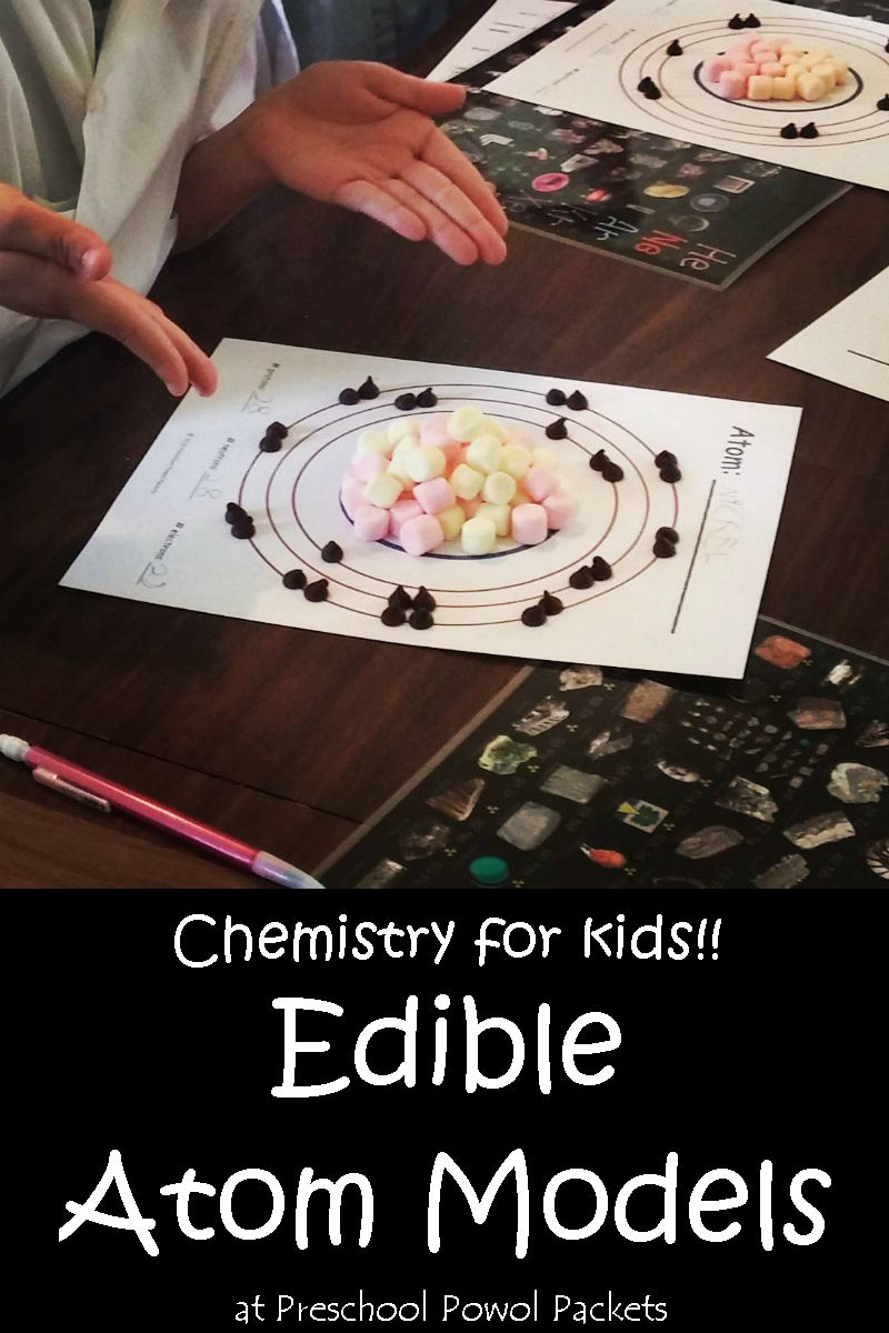 Chemistry for kids edible atom models science experiment honestly i did not expect my preschoolers to appreciate the concept of atoms but they happened to be in as i explained it and they have asked questions urtaz Images