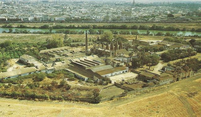 Monasterio Cartuja antes de la Expo 92.