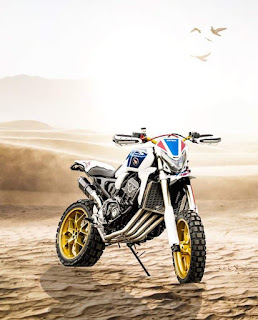 Africa Twin not enough? What about the Africa Quad?