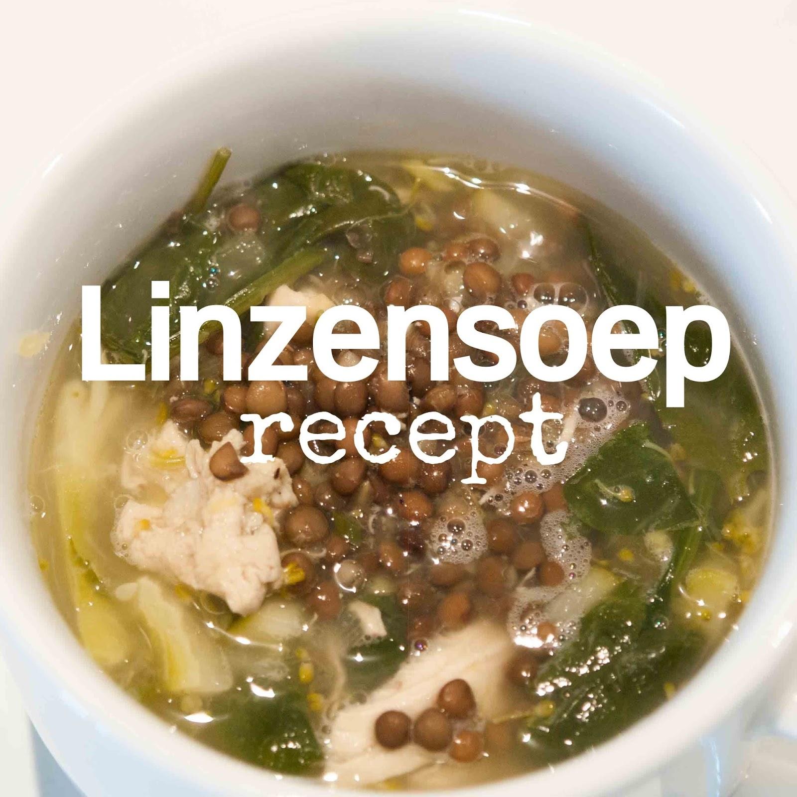 linzensoep recept groenten
