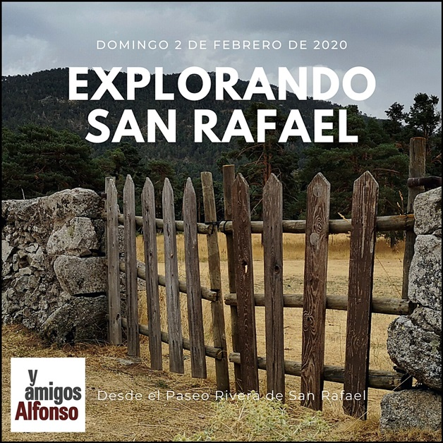 AlfonsoyAmigos - San Rafael - Rutas MTB