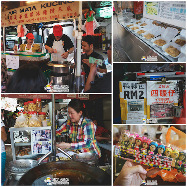 Street food and souvenirs hunting @ Petaling Street