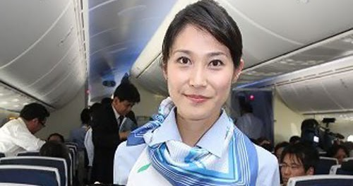Ana Cabin Attendants In Boeing 787 World Stewardess