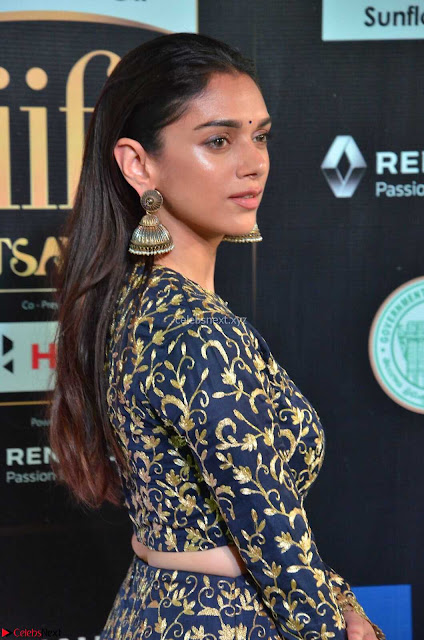 Aditi Rao Hydari in a Beautiful Emroidery Work Top and Skirt at IIFA Utsavam Awards 2017  Day 2 at  05.JPG