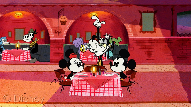 "Disney's Emmy and Annie Award-winning ""Mickey Mouse"" cartoon shorts titled ""Third Wheel."""
