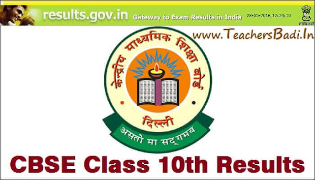 CBSE,Class 10th,Results
