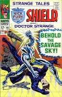 Strange Tales v1 #165 nick fury shield comic book cover art by Jim Steranko