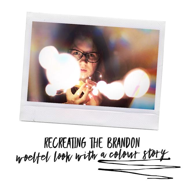 Brandon Woelfel Fairy Lights Colour Dark Light Instagram Tutorial Panasonic 1