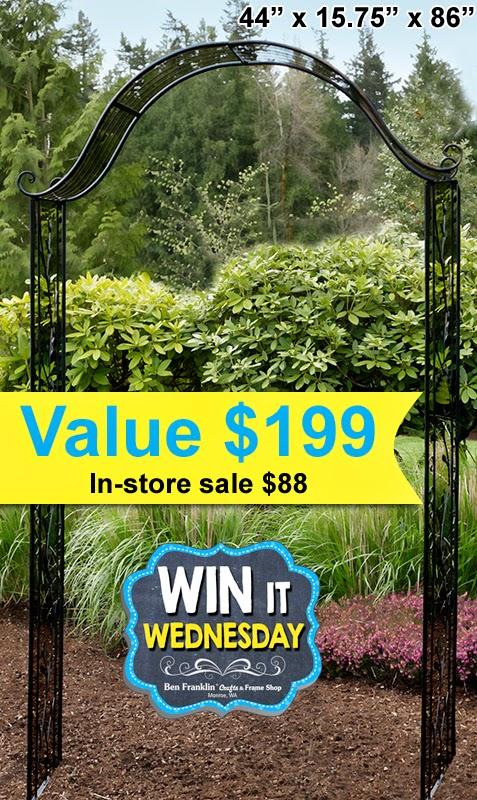 Win this Garden Arch - value $199