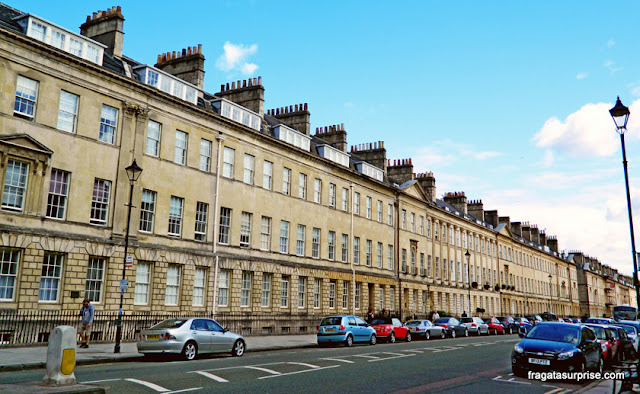 Conjunto georgiano de Great Pulteney Street, Bath, Inglaterra