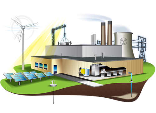 GETEC technologies for energy-efficient industries