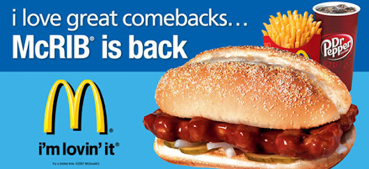 McRib Marketing - BUSINESS