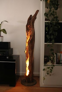 Driftwood lamps, Driftwood furniture, Wood lamps, DIY Lamps, Natural Light