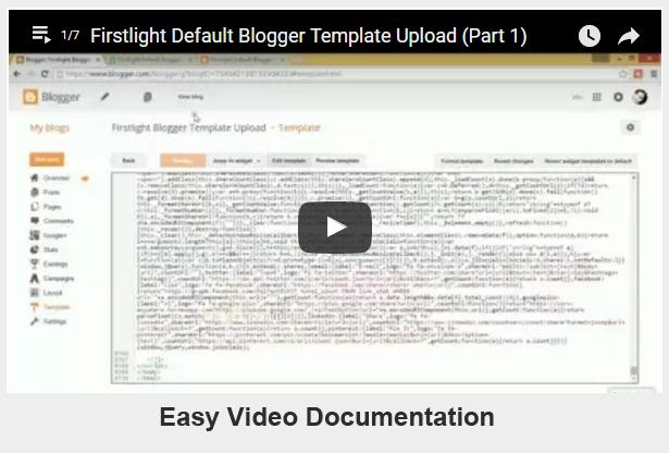 2016 blogger template