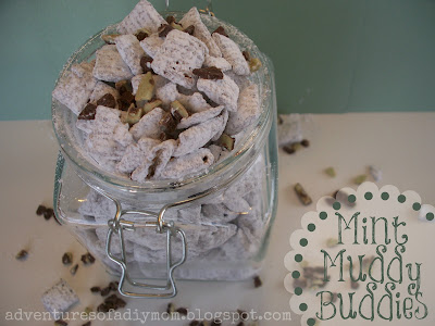 Mint Muddy Buddies