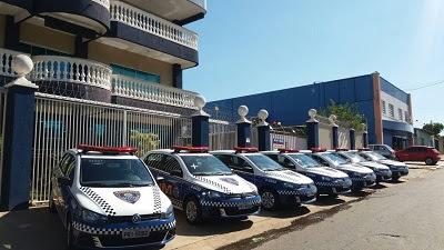 Guarda Civil Metropolitana de Goiânia (GO) recebe 30 novas viaturas