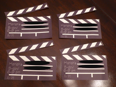 Party Movie Invitations