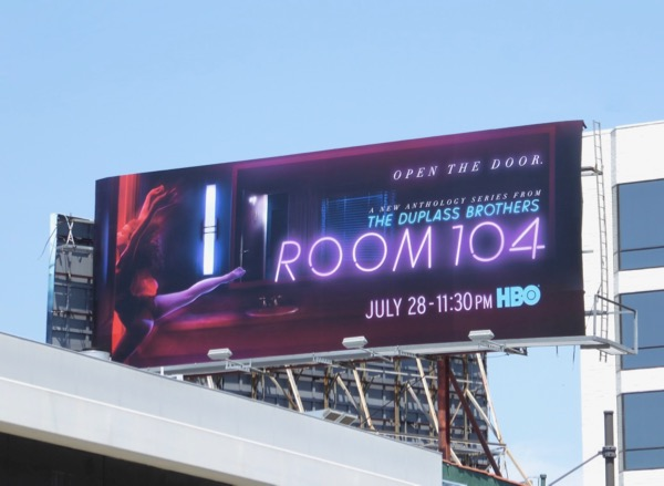 Room 104 series premiere billboard