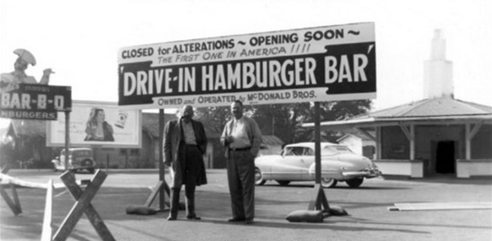 McDonald's closed for alterations in 1948