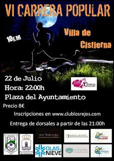 Clasificaciones 10 Km Nocturnos Cistierna